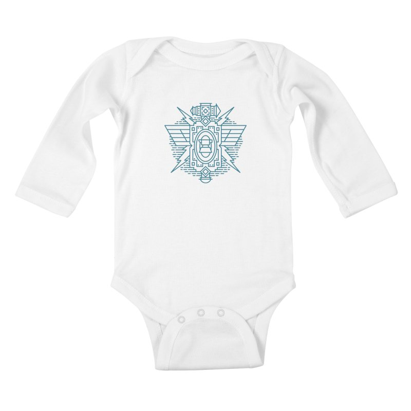 Dwarf - World of Warcraft Crest Kids Baby Longsleeve Bodysuit by dcmjs