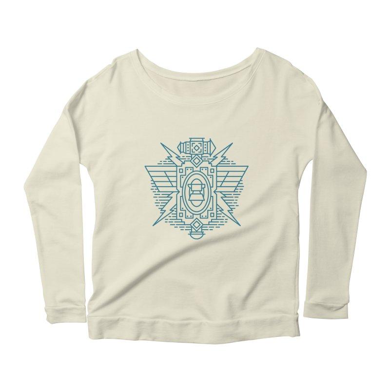 Dwarf - World of Warcraft Crest Women's Scoop Neck Longsleeve T-Shirt by dcmjs
