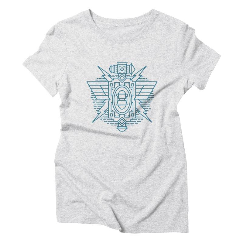 Dwarf - World of Warcraft Crest Women's Triblend T-Shirt by dcmjs