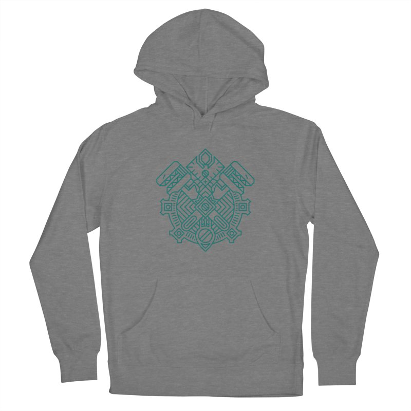 Gnome - World of Warcraft Crest Women's Pullover Hoody by dcmjs