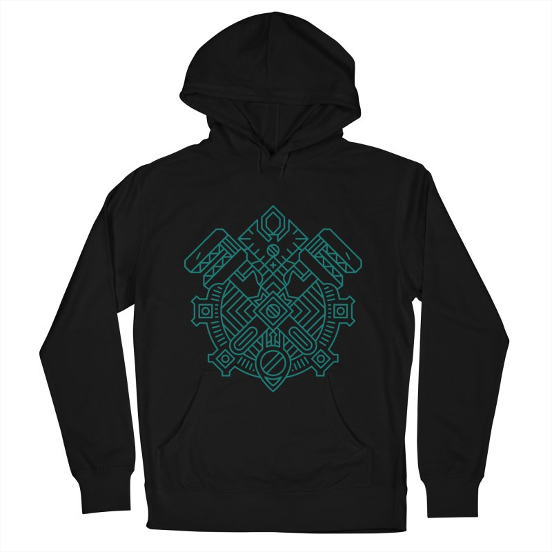 Gnome - World of Warcraft Crest Women's French Terry Pullover Hoody by dcmjs