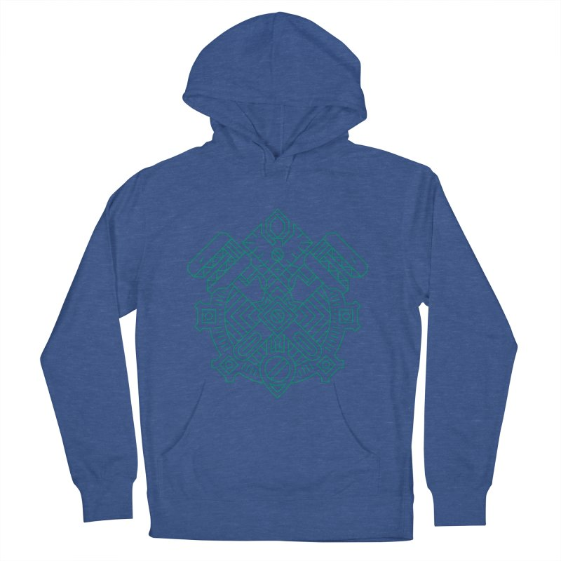 Gnome - World of Warcraft Crest Men's Pullover Hoody by dcmjs