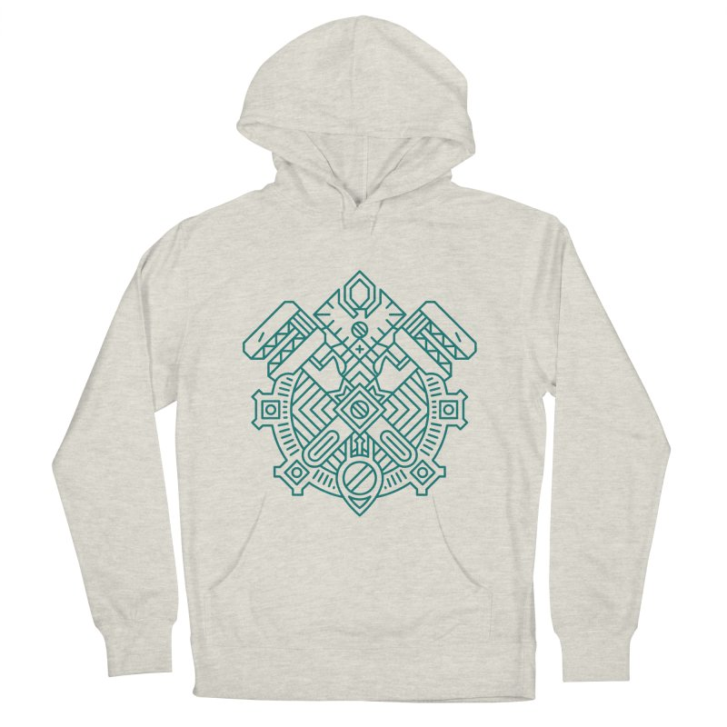 Gnome - World of Warcraft Crest Men's French Terry Pullover Hoody by dcmjs