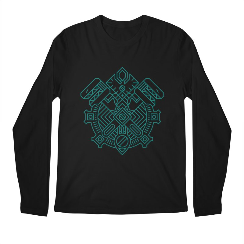 Gnome - World of Warcraft Crest Men's Longsleeve T-Shirt by dcmjs