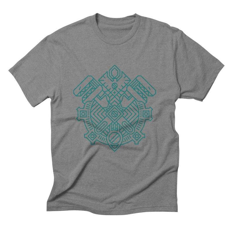 Gnome - World of Warcraft Crest Men's Triblend T-Shirt by dcmjs