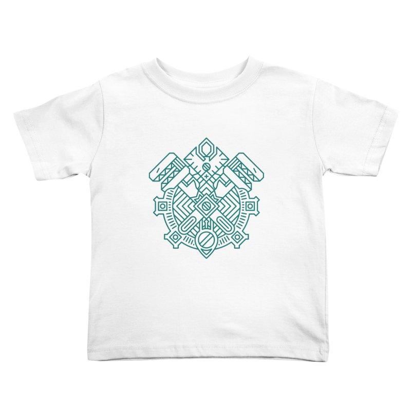 Gnome - World of Warcraft Crest Kids Toddler T-Shirt by dcmjs