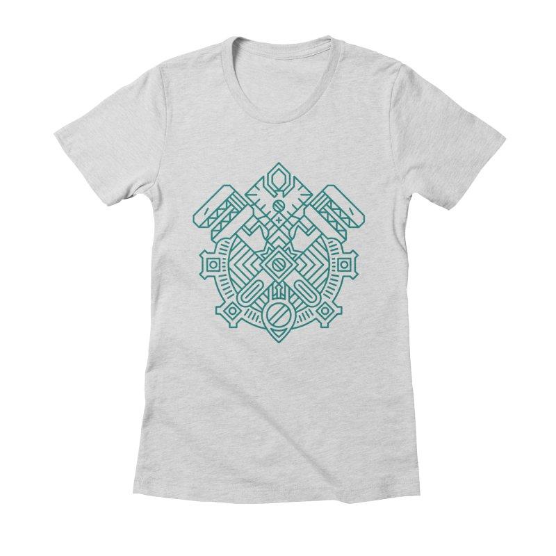 Gnome - World of Warcraft Crest Women's T-Shirt by dcmjs