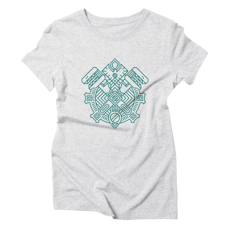 Gnome - World of Warcraft Crest Women's T-Shirt by dcmjs