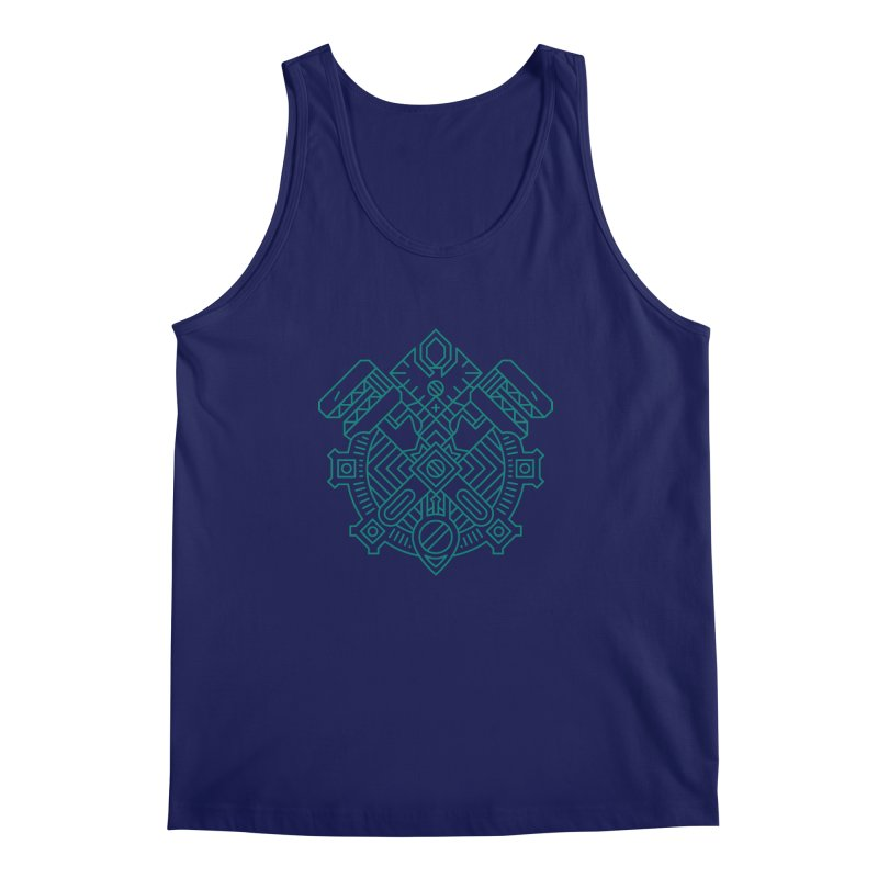 Gnome - World of Warcraft Crest Men's Tank by dcmjs