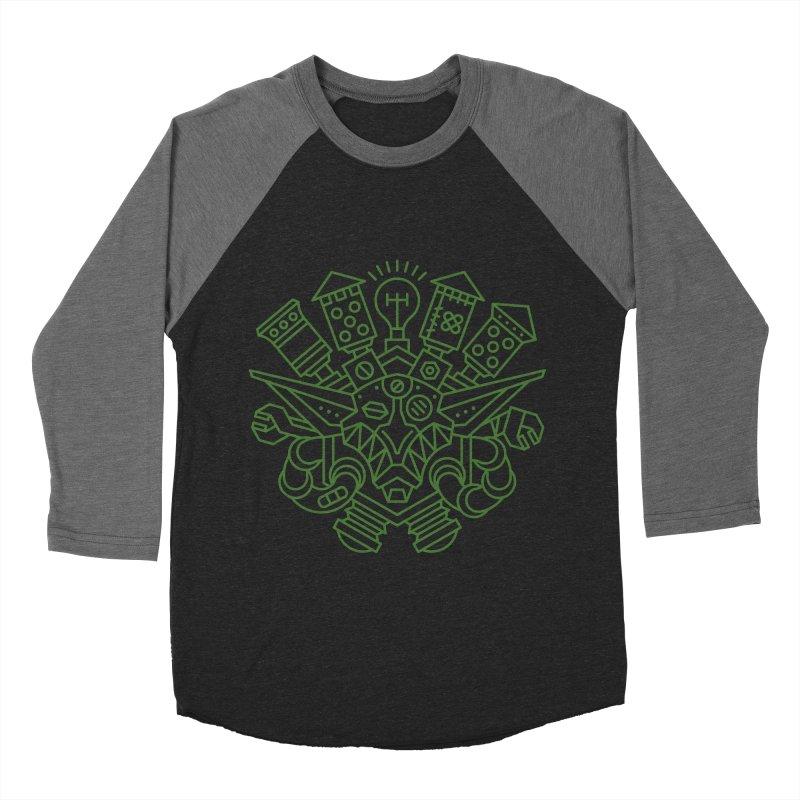Goblin - World dof Warcraft Crest Men's Baseball Triblend T-Shirt by dcmjs