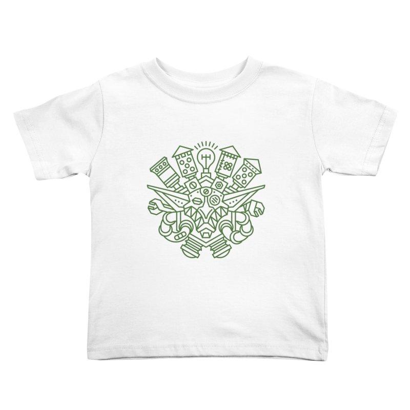 Goblin - World dof Warcraft Crest Kids Toddler T-Shirt by dcmjs