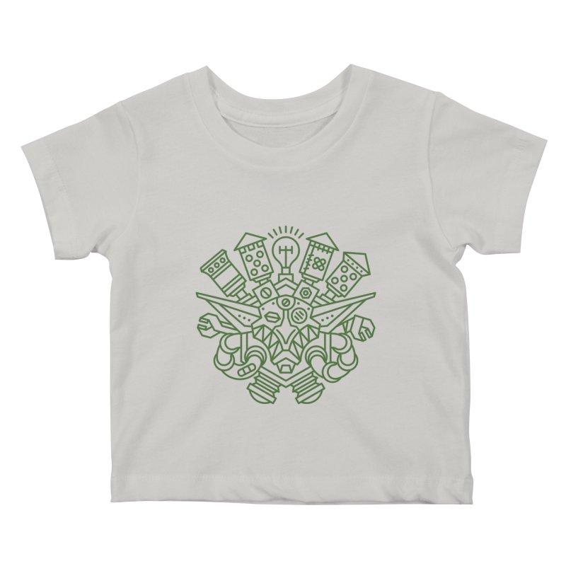 Goblin - World dof Warcraft Crest Kids Baby T-Shirt by dcmjs