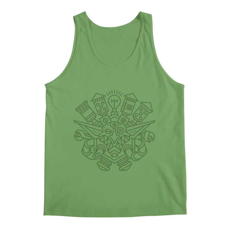 Goblin - World dof Warcraft Crest Men's Tank by dcmjs