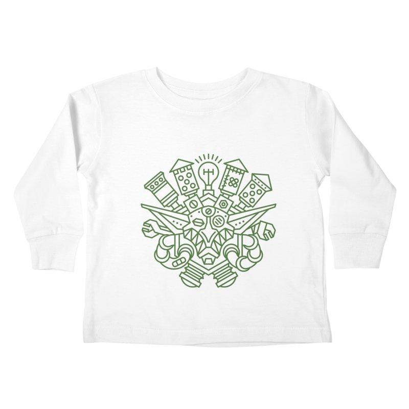 Goblin - World dof Warcraft Crest Kids Toddler Longsleeve T-Shirt by dcmjs