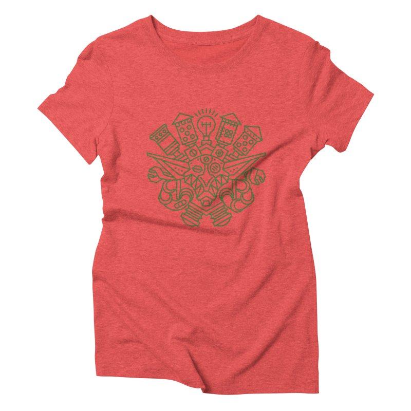 Goblin - World dof Warcraft Crest Women's Triblend T-Shirt by dcmjs