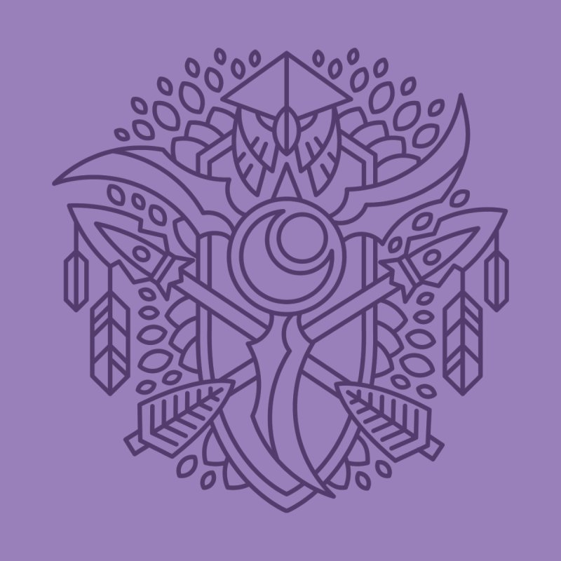 Night Elf - World of Warcraft Crest by dcmjs