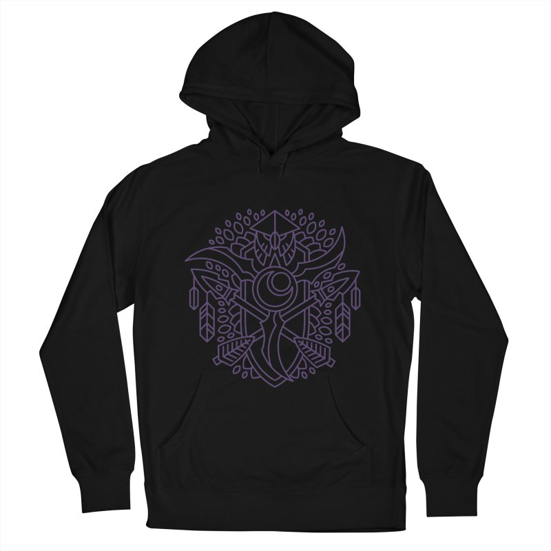 Night Elf - World of Warcraft Crest Men's French Terry Pullover Hoody by dcmjs