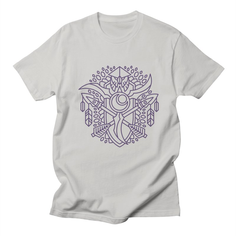 Night Elf - World of Warcraft Crest Men's T-Shirt by dcmjs