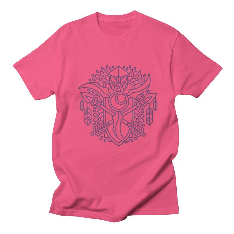 Night Elf - World of Warcraft Crest Men's T-Shirt by dcmjs