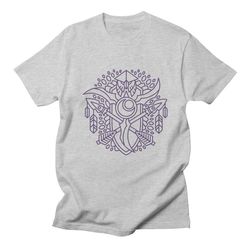 Night Elf - World of Warcraft Crest Men's Regular T-Shirt by dcmjs