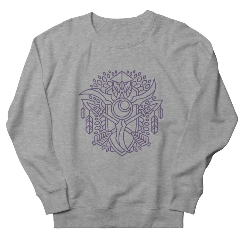 Night Elf - World of Warcraft Crest Men's French Terry Sweatshirt by dcmjs