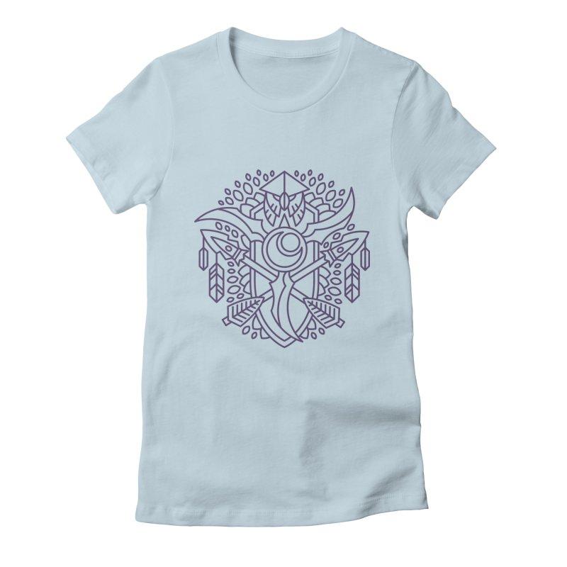 Night Elf - World of Warcraft Crest Women's T-Shirt by dcmjs