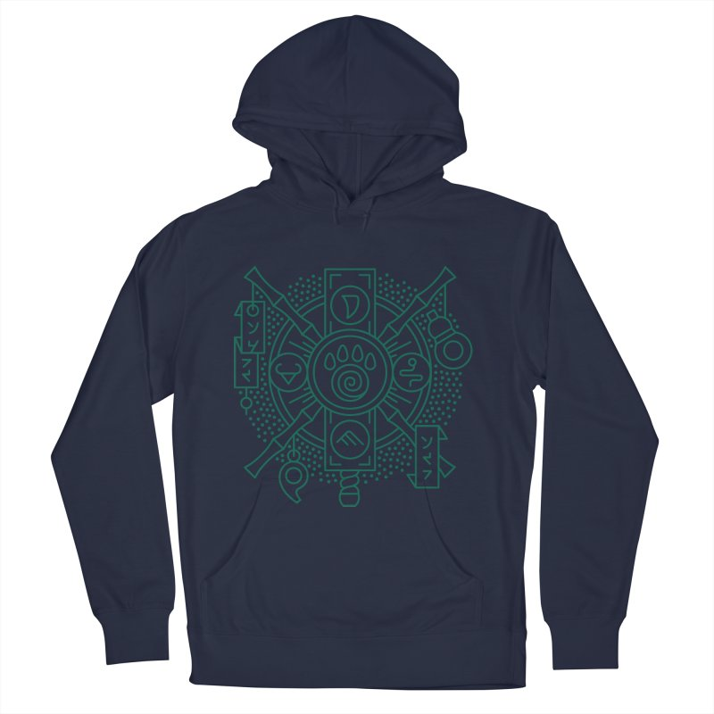 Pandaren - World of Warcraft Crest Women's French Terry Pullover Hoody by dcmjs