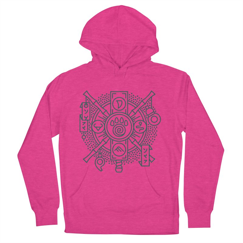 Pandaren - World of Warcraft Crest Men's French Terry Pullover Hoody by dcmjs