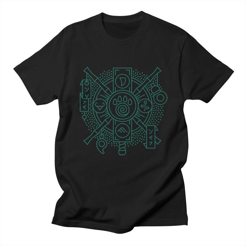 Pandaren - World of Warcraft Crest Men's T-Shirt by dcmjs