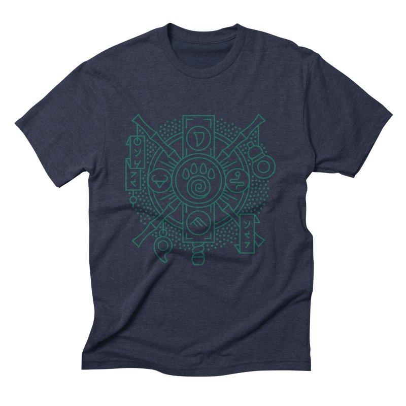 Pandaren - World of Warcraft Crest Men's Triblend T-Shirt by dcmjs
