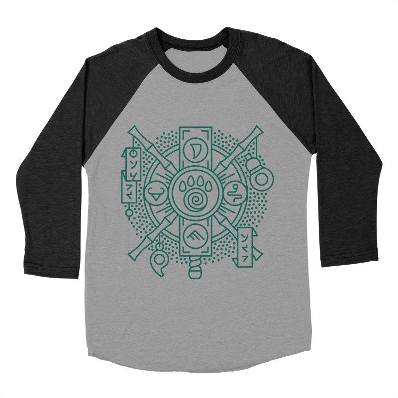 Pandaren - World of Warcraft Crest Women's Baseball Triblend Longsleeve T-Shirt by dcmjs