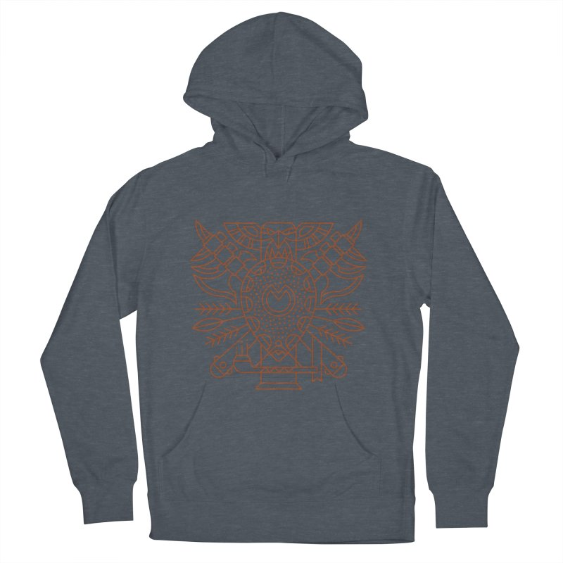 Tauren - World of Warcraft Crest Women's French Terry Pullover Hoody by dcmjs