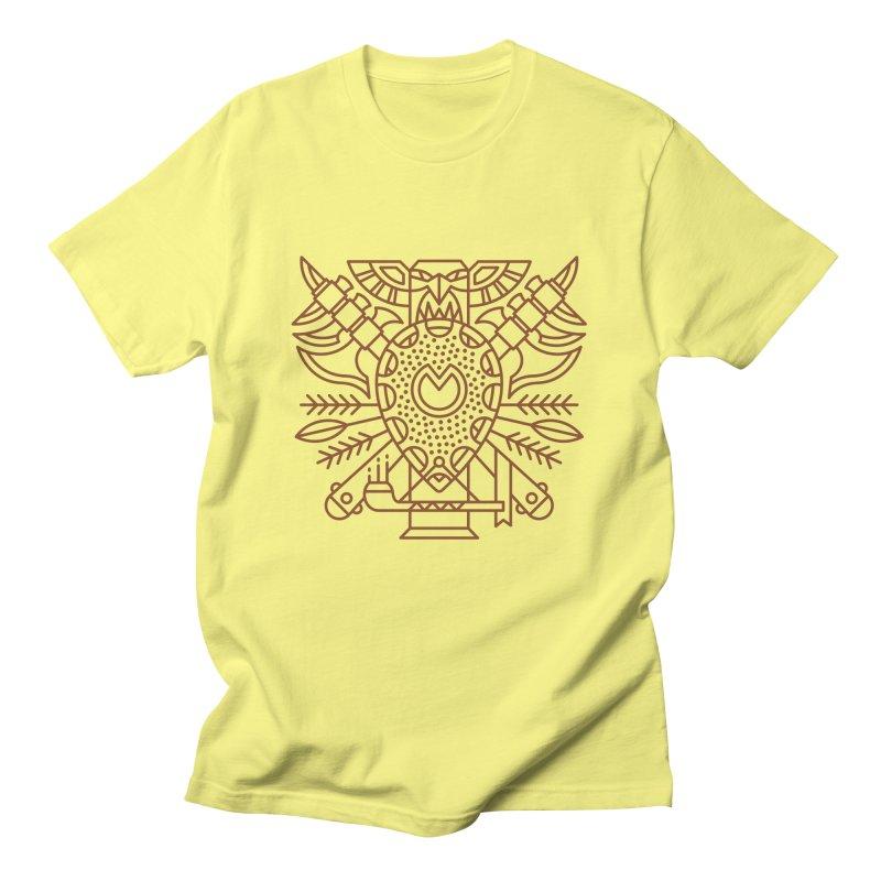 Tauren - World of Warcraft Crest Men's T-Shirt by dcmjs
