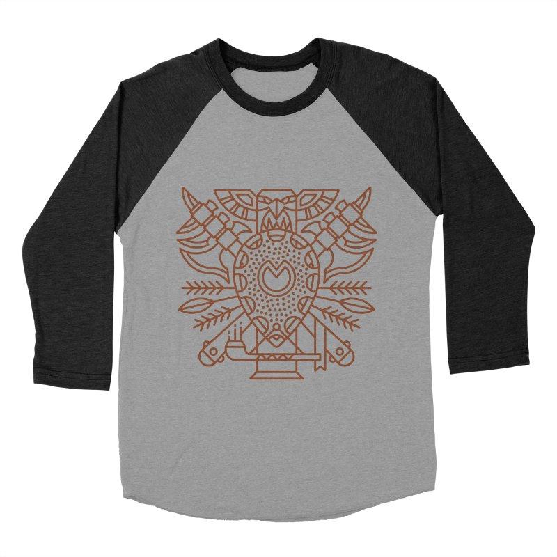 Tauren - World of Warcraft Crest Men's Baseball Triblend Longsleeve T-Shirt by dcmjs