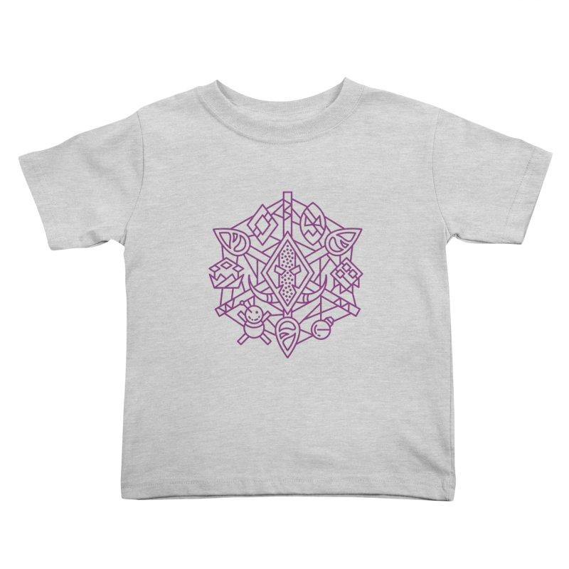 Troll - World of Warcraft Crest Kids Toddler T-Shirt by dcmjs