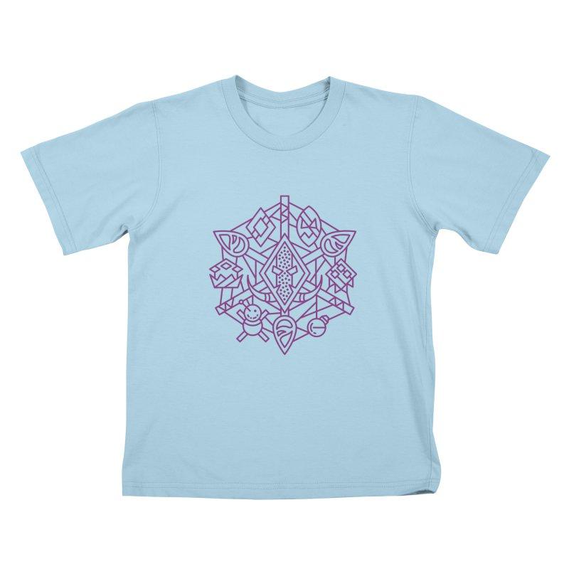 Troll - World of Warcraft Crest Kids T-Shirt by dcmjs