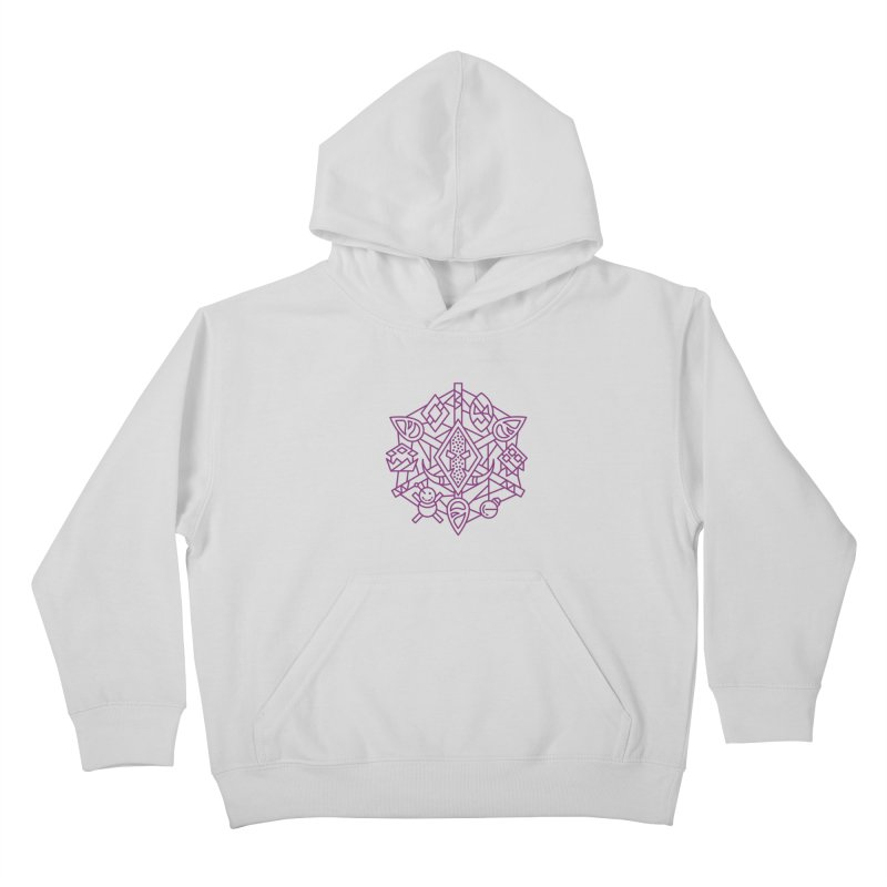 Troll - World of Warcraft Crest Kids Pullover Hoody by dcmjs