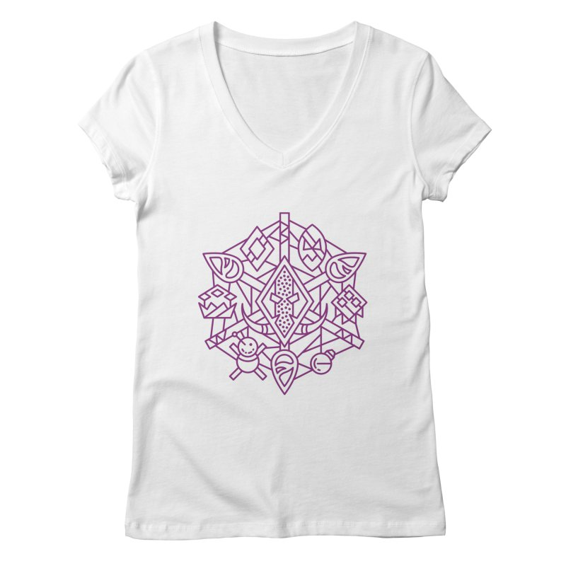 Troll - World of Warcraft Crest Women's V-Neck by dcmjs