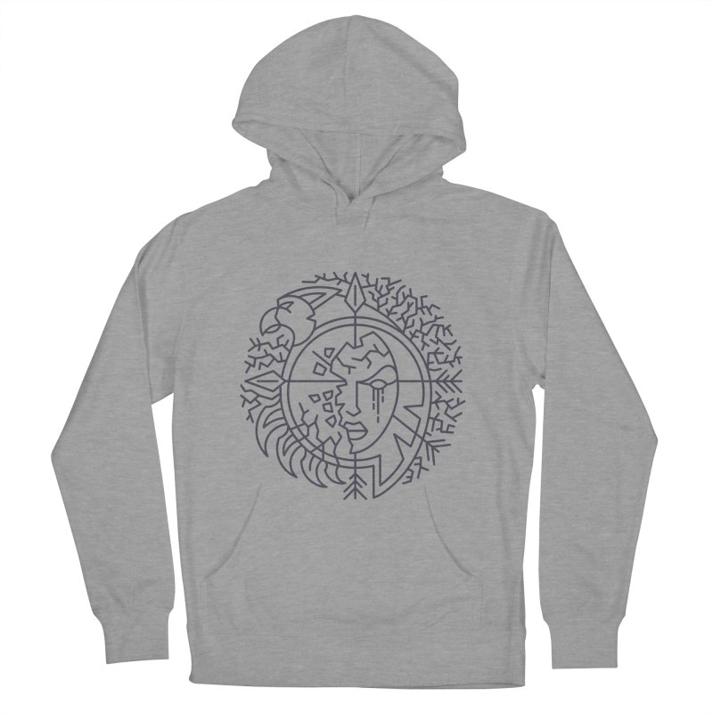 Undead - World of Warcraft Crest Women's French Terry Pullover Hoody by dcmjs