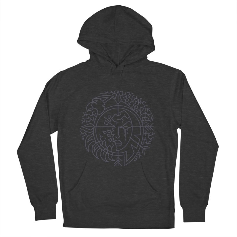 Undead - World of Warcraft Crest Men's Pullover Hoody by dcmjs