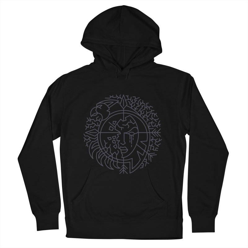 Undead - World of Warcraft Crest Men's French Terry Pullover Hoody by dcmjs
