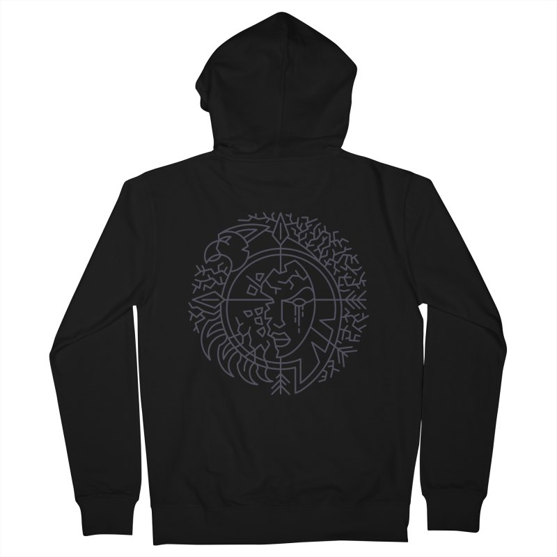 Undead - World of Warcraft Crest Women's French Terry Zip-Up Hoody by dcmjs