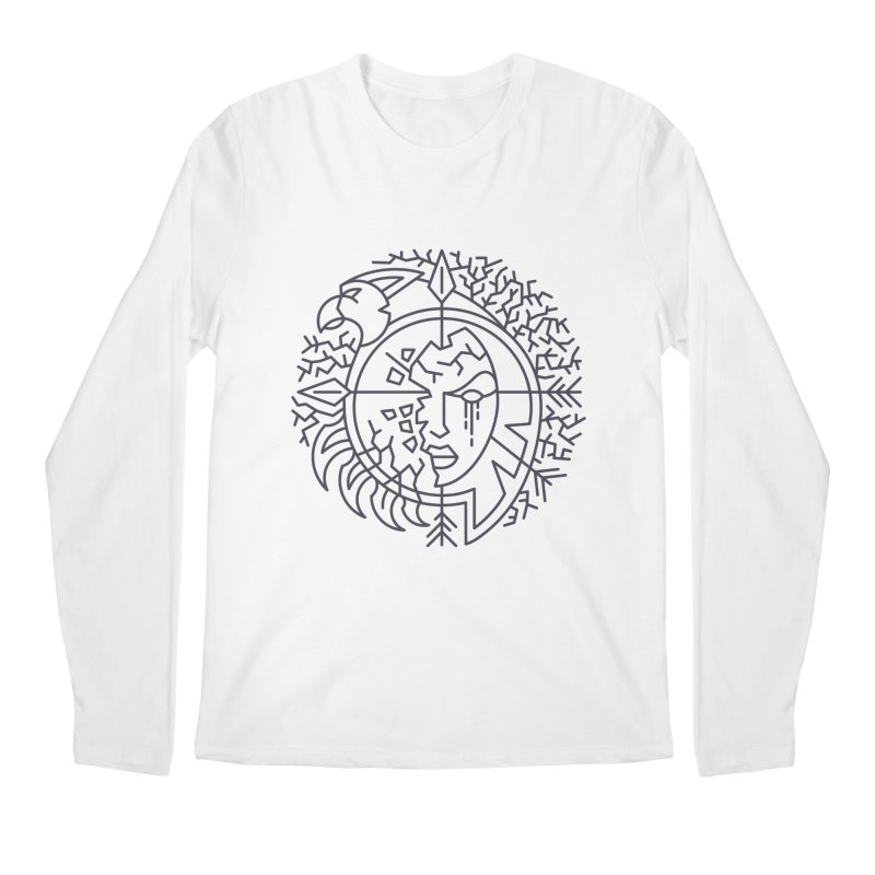 Undead - World of Warcraft Crest Men's Longsleeve T-Shirt by dcmjs