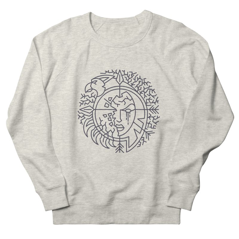 Undead - World of Warcraft Crest Men's French Terry Sweatshirt by dcmjs