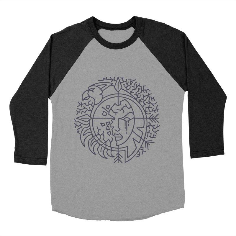 Undead - World of Warcraft Crest Men's Baseball Triblend Longsleeve T-Shirt by dcmjs