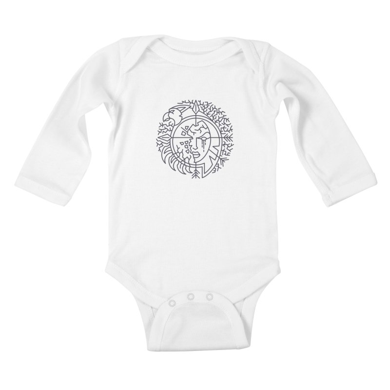 Undead - World of Warcraft Crest Kids Baby Longsleeve Bodysuit by dcmjs