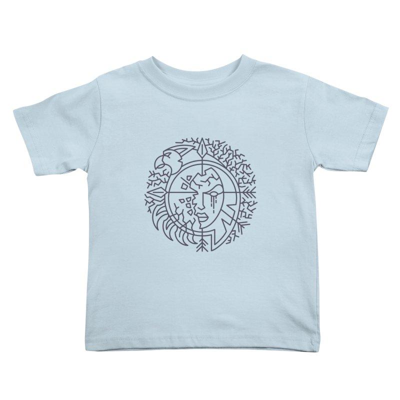 Undead - World of Warcraft Crest Kids Toddler T-Shirt by dcmjs