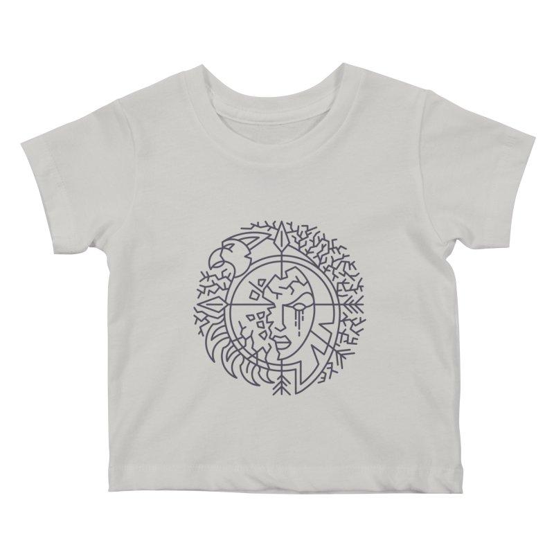 Undead - World of Warcraft Crest Kids Baby T-Shirt by dcmjs