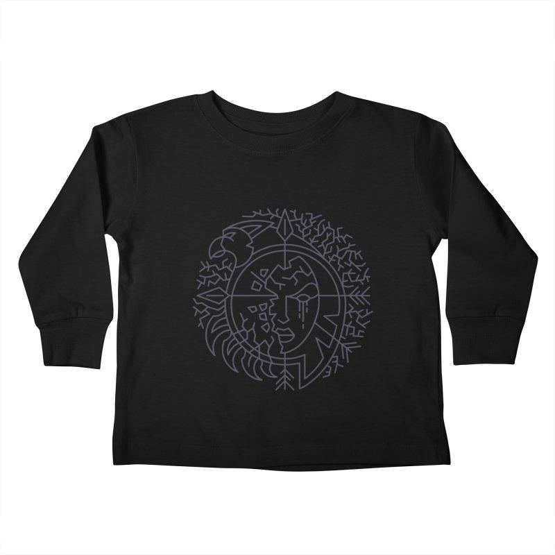 Undead - World of Warcraft Crest Kids Toddler Longsleeve T-Shirt by dcmjs