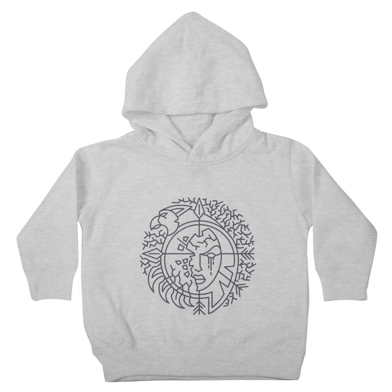 Undead - World of Warcraft Crest Kids Toddler Pullover Hoody by dcmjs